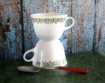 Spring Blossom Green Cups