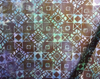 Patchwork batik, breezy batiks by Moda fabric