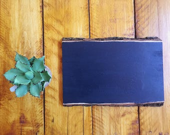 Custom Chalkboard Sign Raw Wood Sign Hand Lettered Sign