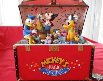 Mickey's Magic Toy Chest Music Box by Enesco