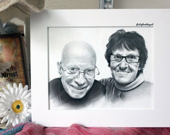 Couples Custom Portrait Artwork