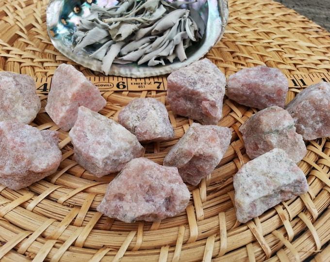 Sunstone ~ 1 Reiki infused rough crystal