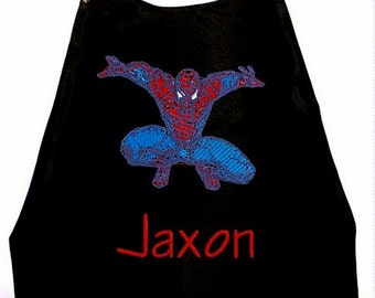 Superhero Cape,  Kids Cape Embroidered Super Hero Cape Personalized with Name