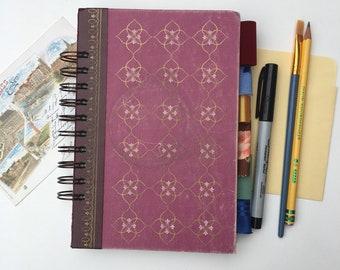 art journal, smash book journal, junk journal, altered book junk journal