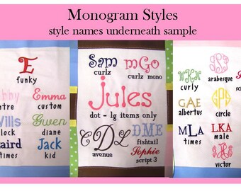 Monogramming NOW Available for your Custom Pillow by MaryEllie Designs!