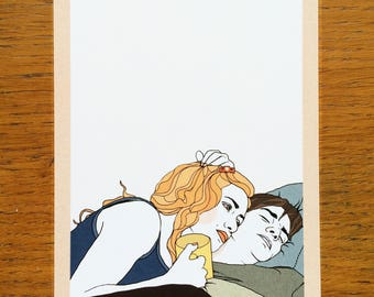 Eternal Sunshine of the Spotless Mind (Illustrated Literary Postcards & Prints: Films)