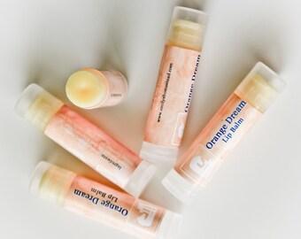 Orange Dream Lip Balm - All Natural Lip Balm, Delicious Lip Balm
