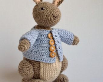 Haakpatroon Timmy het konijntje, konijn, haas, amigurumi Nederlands