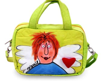 BrightWorld Angel Small Shoulder Tote Bag