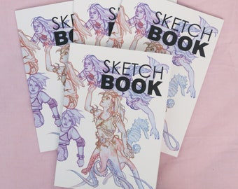 SKETCHBOOK ZINE - Art Zine - Original Art