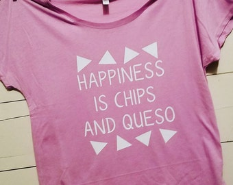 Happiness is Chips and Queso