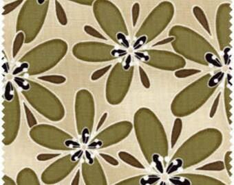 Modern Floral - Olive/ Beige, Dandelion Daydreams by Maywood Studio 8012E
