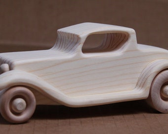 Handcrafted Wooden 1932 Ford Roadster 301