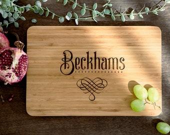 Personalized Cutting Board - Engraved Cutting Board, Custom Cutting Board, Wedding Gift, Housewarming Gift, Anniversary Gift, Engagement #18