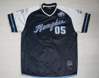 FUBU jersey, Fubu City Series shirt, vintage Memphis t-shirt of 90s hip-hop clothing 1990s rap OG size L