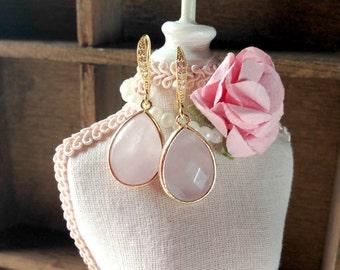 Rose Earrings - Jewelry - Wedding