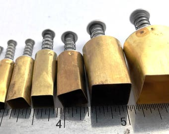 Brand New 7 pieces Square Cutter Set APC7SQ
