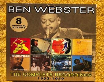 Ben Webster / The Comlpete Recordings 1952-1959 - (8) Original Verve Albums - 4CD Box Set - Enlightenment - EN4CD9065