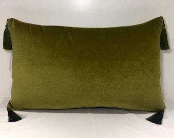 Green Pillows Etsy