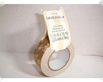 Duct Tape/ David Tutera/ Lace*/ 10 yards/Craft Supplies*