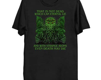 Cthulhu Idol - Cthulhu Shirt HP Lovecraft T-Shirt Cthulhu Tee Call of Cthulhu Great Old One Shirt