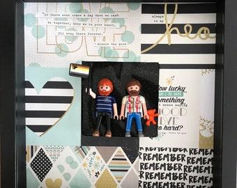 Frame playmobil gay gay couple