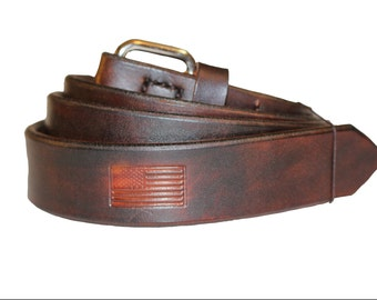 The perfect Belts For Men, Handmade Leather Belts, Unique Handcrafted Natural Leather Look. 1.25 inch width Fullgrain Leather, Gifts For Him