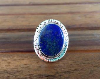 Lapis Ring - Size: 7