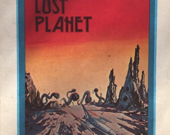 Lost Planet Vintage Iron On Heat Transfer