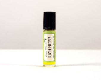 Rich Hippie Perfume Roll On, Sandalwood, Patchouli, Natural Perfume, Hippie Perfume, Hippie Gift
