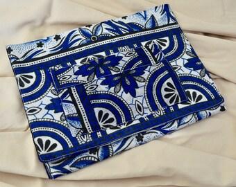Tablet cover/ iPad case/Protective/Book sleeve/Khanga/Kanga/African Fabric