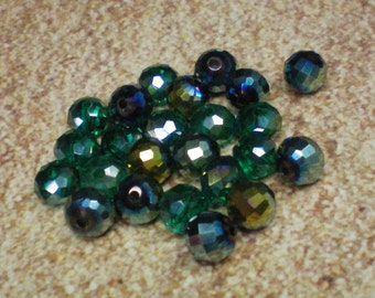 Faceted Shiny Beads