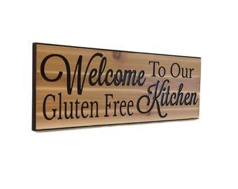 Gluten Free gluten-free wheat free gluten free bread gluten free sign gluten free decor