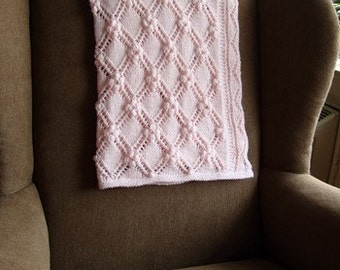 Estonian Princess Baby Blanket - Knitting Pattern