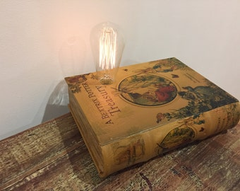 Dimmable Peter Rabbit Book Box Lamp