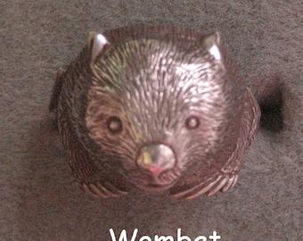 Wombat ring