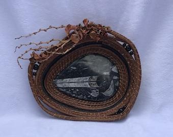 Orthoceras Fossil Basket