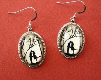 AUTUMN KISS Earrings - Silhouette Jewelry