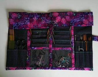 Circular Knitting Needle Case Organizer