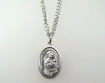 Saint Stanislaus Kostka Medal Necklace
