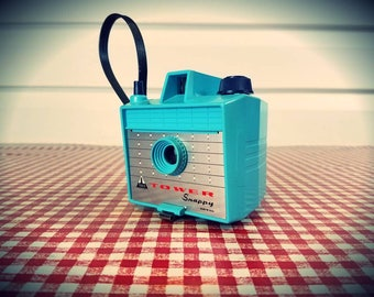 """Vintage Blue Tower """"Skippy"""" (Imperial Savoy) Camera, Ready to Shoot..."""