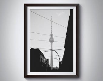 Berlin tower, Germany - Physical fine art photography print