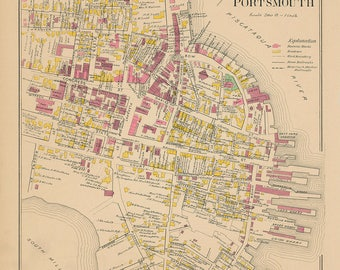City of Portsmouth, New Hampshire 1892