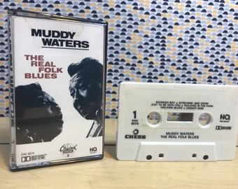 Muddy Waters - The Real Folk Blues - Cassette tape - 1987 Chess Records