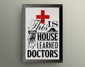 HOUSE of LEARNED DOCTORS | Step-Brothers Movie Quote | 11x17