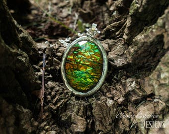 Fine Dragon Egg Necklace/ Fantasy Necklace/Rustic Dragon Egg/ Medieval necklace