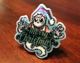 Nightmare Before Christmas Lapel Pin