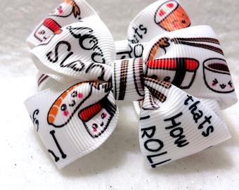 Girly Sushi Lover Bow Set
