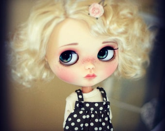 "10-11"" BEAUTIFUL Marilyn Blond doll WIG for Blythe and Neo Blythe Custom"