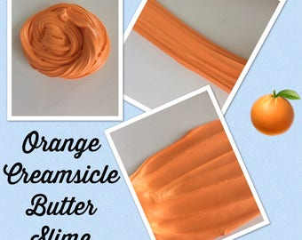 Orange Creamsicle Butter Slime